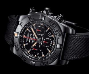 Breitling Chronomat 44 Blacksteel (1)