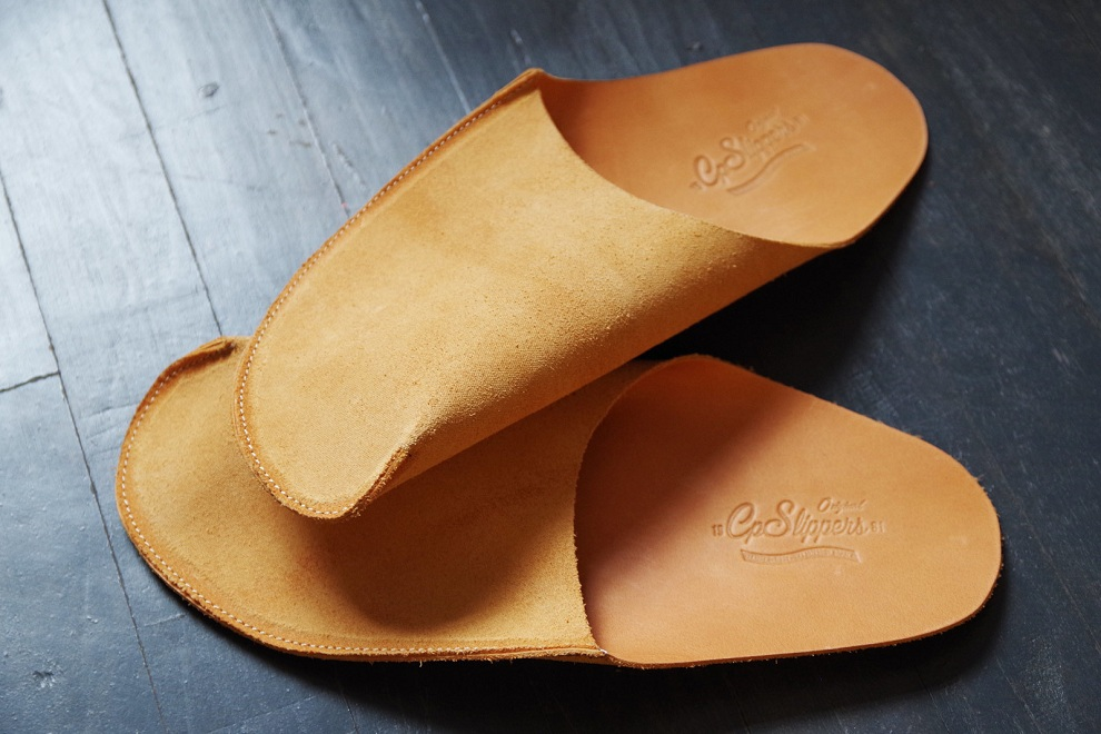 CP Slippers Are Crafted From Single Piece of Leather (1)