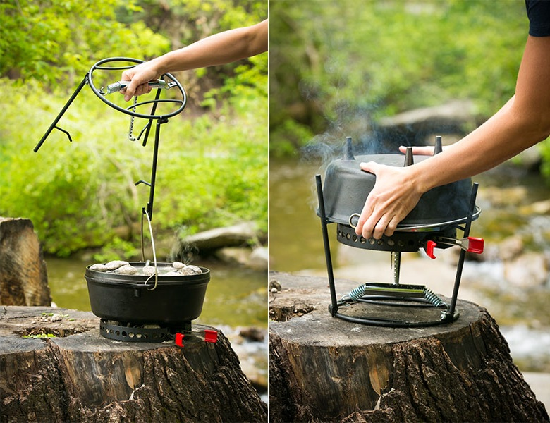 CampMaid Grill & Smoker (2)