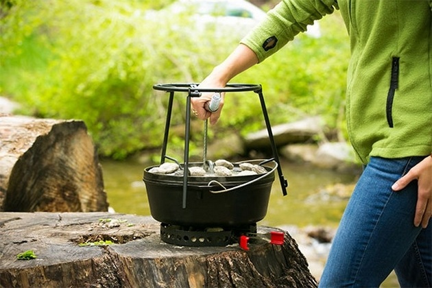 CampMaid Grill & Smoker (4)