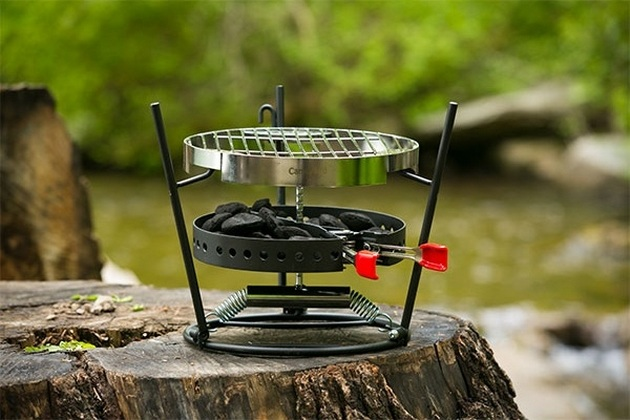CampMaid Grill & Smoker (5)
