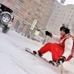Casey Neistat New York Snowboarding