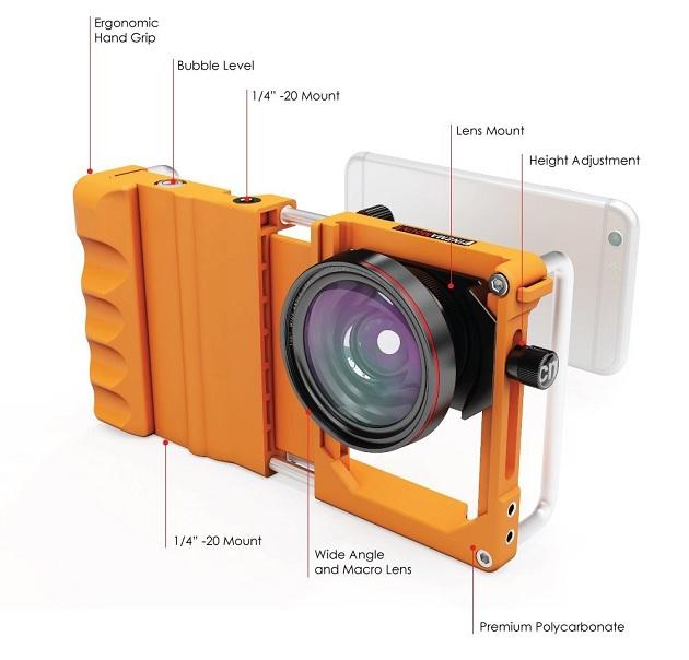 Cinema Mount Universal Smartphone Stabilizer Rig Mount (1)