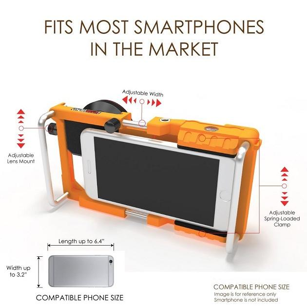 Cinema Mount Universal Smartphone Stabilizer Rig Mount (8)