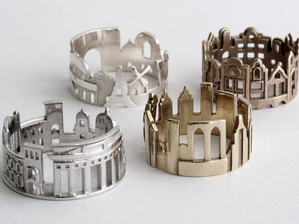 Cityscape Rings (4)