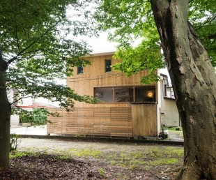 Compact Wooden House by Takeru Shoji Architects (1)