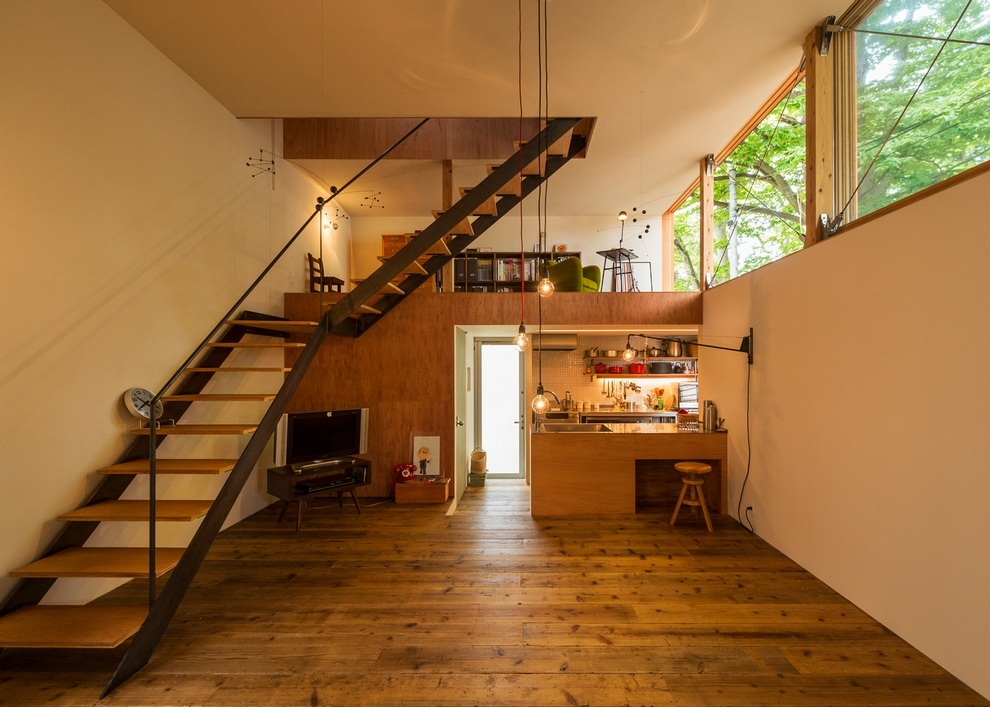 Compact Wooden House by Takeru Shoji Architects (5)