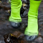 Crosspoint Waterproof Hi-Viz Crew Socks (1)