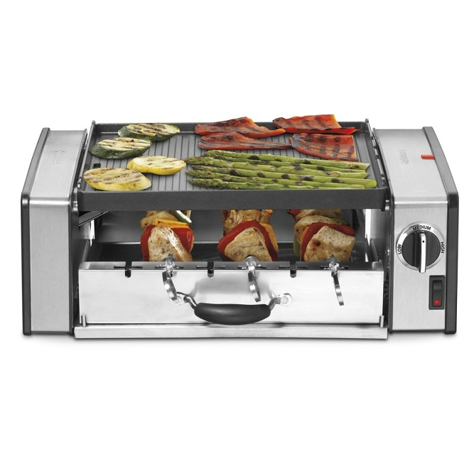 Cuisinart Convertible Griddle Doubles as Grill (2)