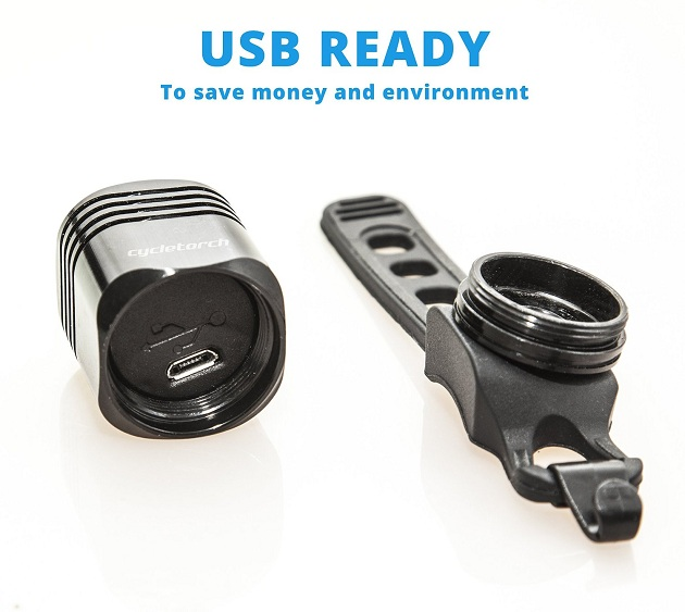 Cycle Torch - USB Rechargeable Bike Tail Light (1)