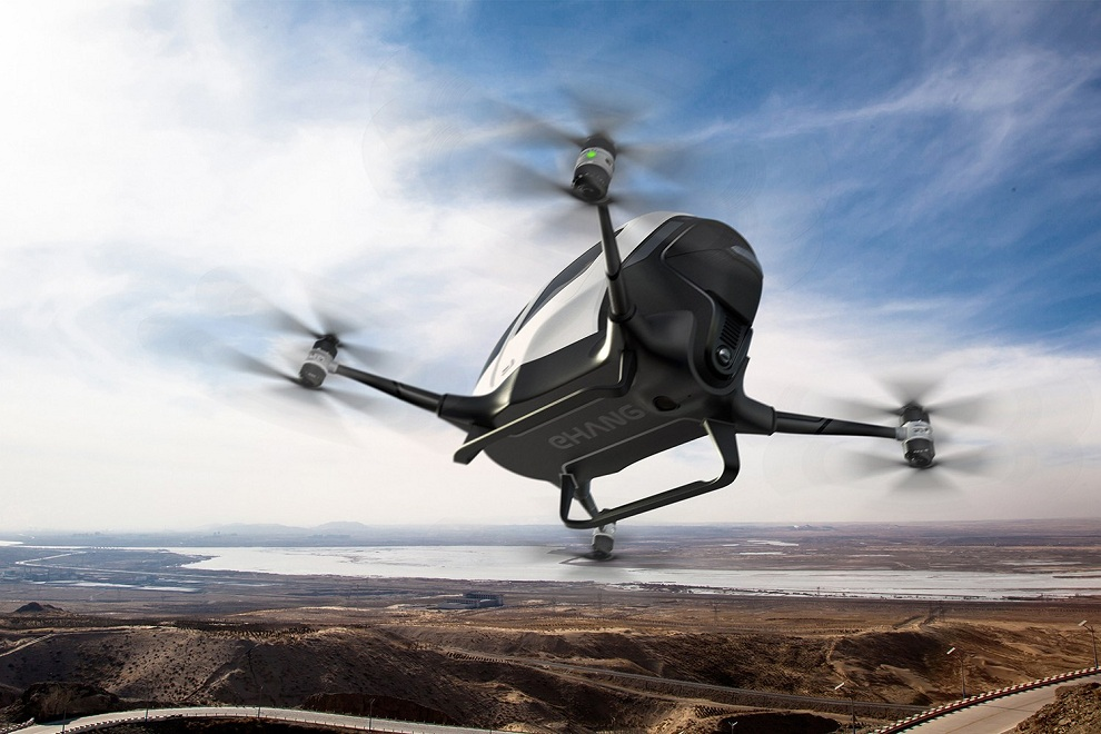Ehang184 Could be Your Personal Autonomous Aerial Vehicle (2)