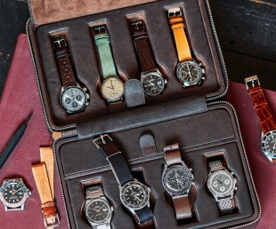 HODINKEE Leather Travel Box for Watches (1)