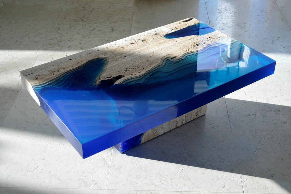 Lagoon table by alexander chapelin bonjourlife - Salon art de la table ...