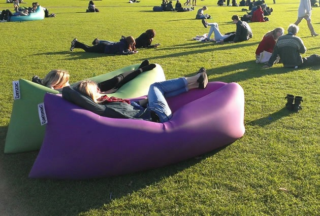 Lamzac Hangout Instantly Inflatable Bean Bag Bonjourlife