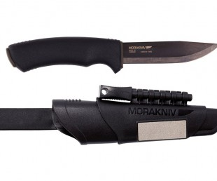 Morakniv Bushcraft Carbon Steel Survival Knife with Fire Starter and Sheath (1)