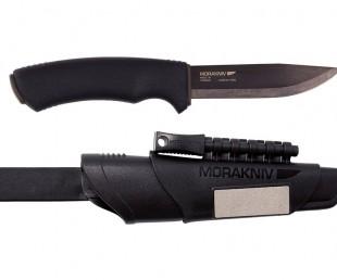 Morakniv Bushcraft Carbon Steel Survival Knife with Fire Starter and Sheath (1)