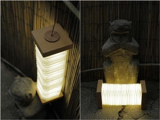 Orilamp - Origami Inspired Smart Folding Lamp (2)