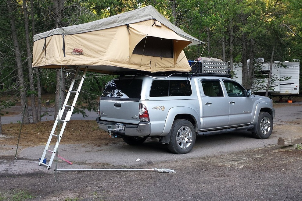 Overland Rooftop Camping Tent with Annex Room (8)