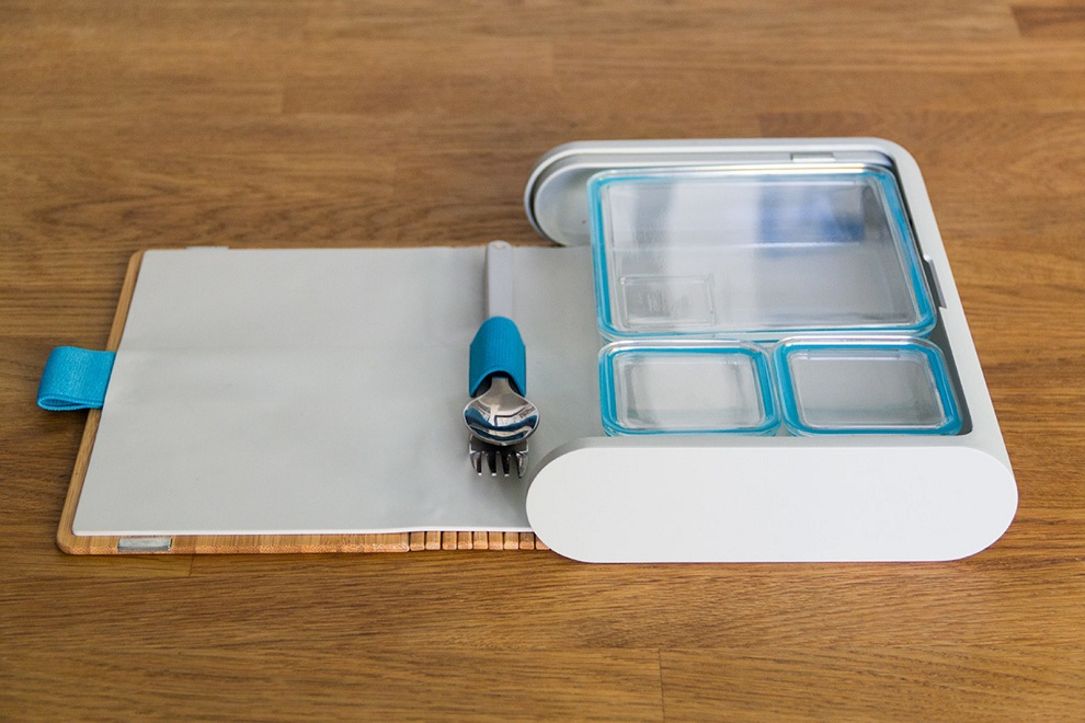Prepd Pack - A Beaufitul Modular Lunchbox with Recipe App (2)
