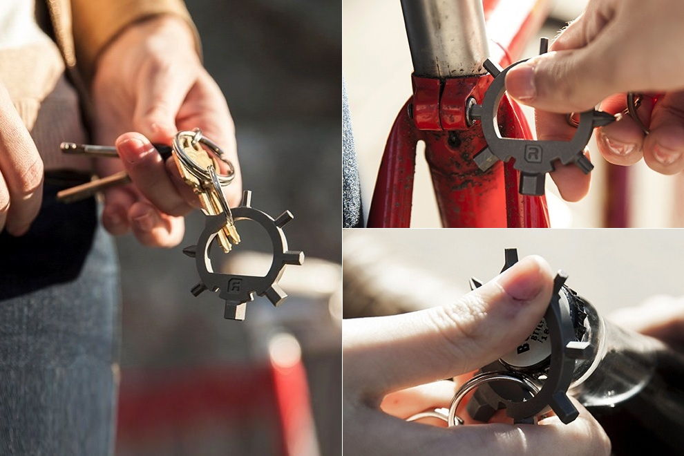 Reductivist Ringtool Compact Multi-Tool Keychain