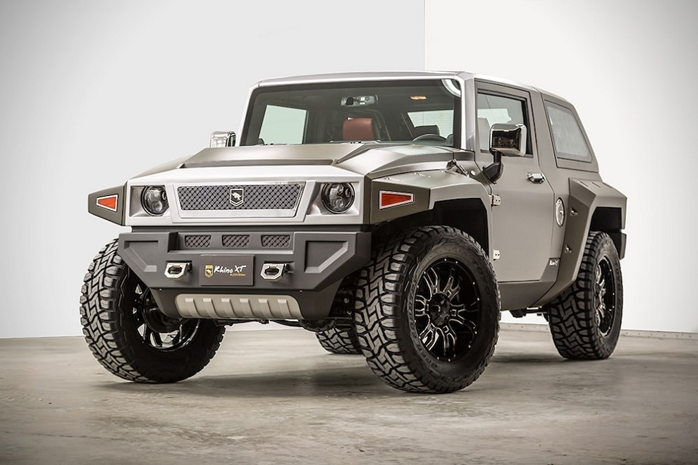 Rhino XT - Jeep Wrangler Inspired by Military Vehicles (1)