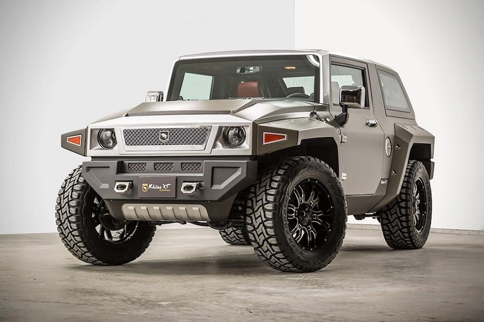 Rhino Xt Jeep Wrangler Inspired By Military Vehicles