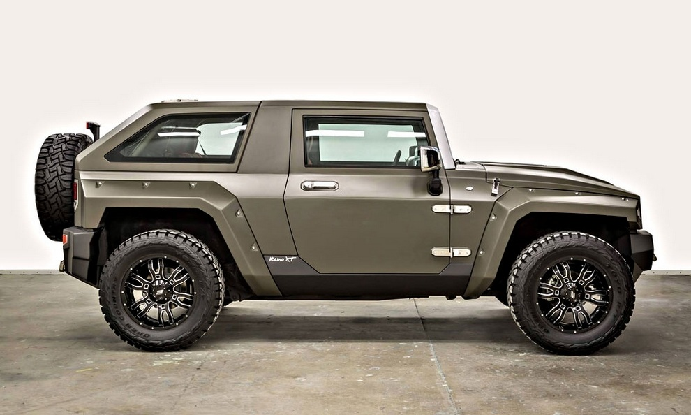 Rhino XT - Jeep Wrangler Inspired by Military Vehicles (2)