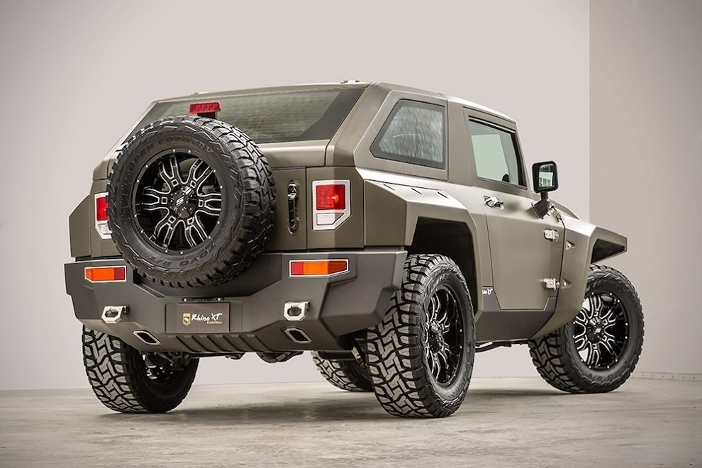 Rhino Xt Jeep Wrangler Inspired By Military Vehicles