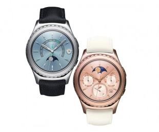 Samsung S2 Gear - 18k Gold and Platinum Watches (1)