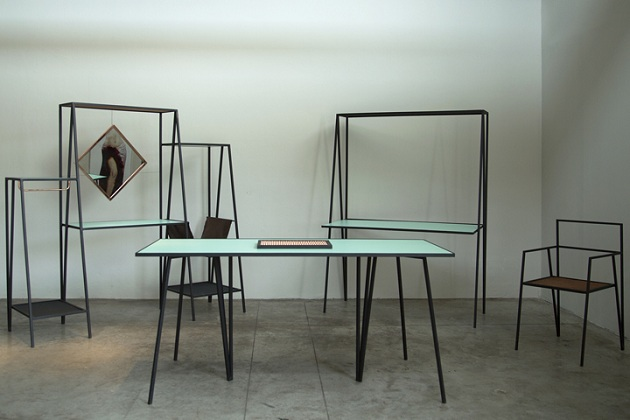 The Alpina - Minimal Steel Furniture by Ries (0)