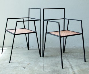 The Alpina - Minimal Steel Furniture by Ries (1)
