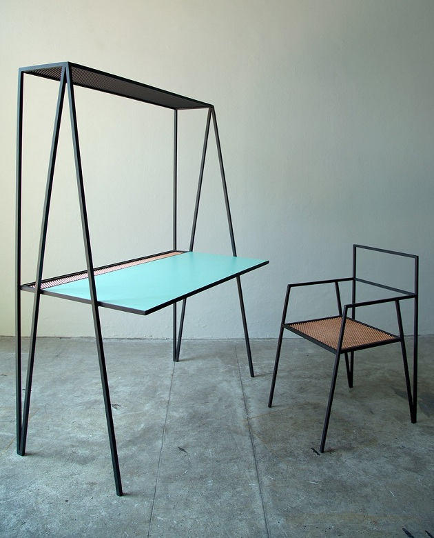 The Alpina - Minimal Steel Furniture by Ries (2)