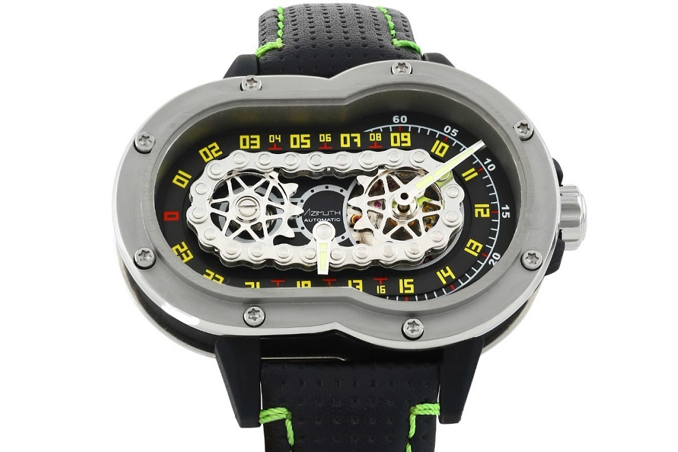 The Azimuth SP-1 Crazy Rider Watch (1)