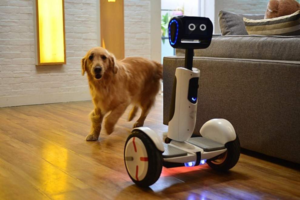 The New Segway Transporter Turns Into Personal Robot