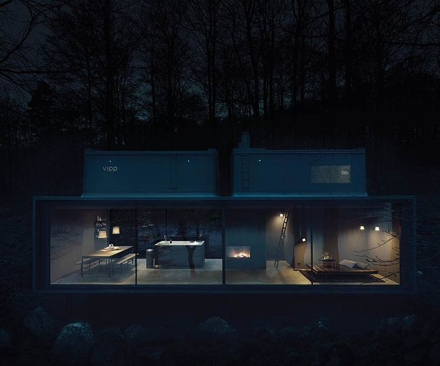 Vipp Shelter - A Timeless Forest Cabin (4)