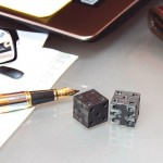 CotoCube - Carbon Fiber Glow In The Dark Dice (3)
