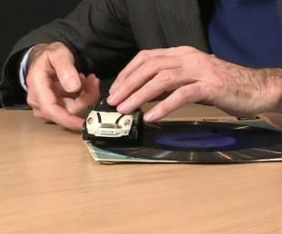 Tim Rowett's Toy Car Can Play Vinyl Records