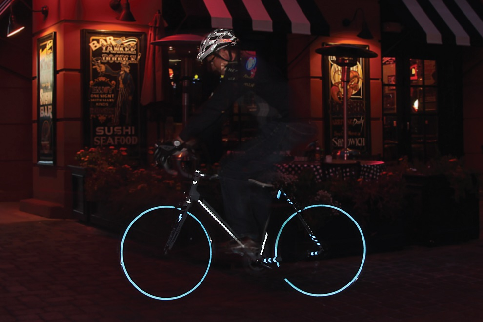 Velosight Reflective Decals for Cyclists 0(5)