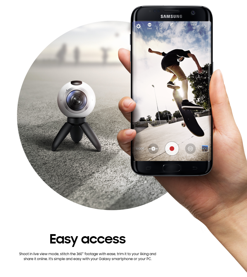 Samsung Debuts its First Gear 360 (2)