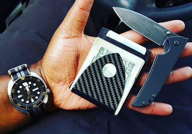 Billetus Carbon Fiber Money Clip Bonjourlife