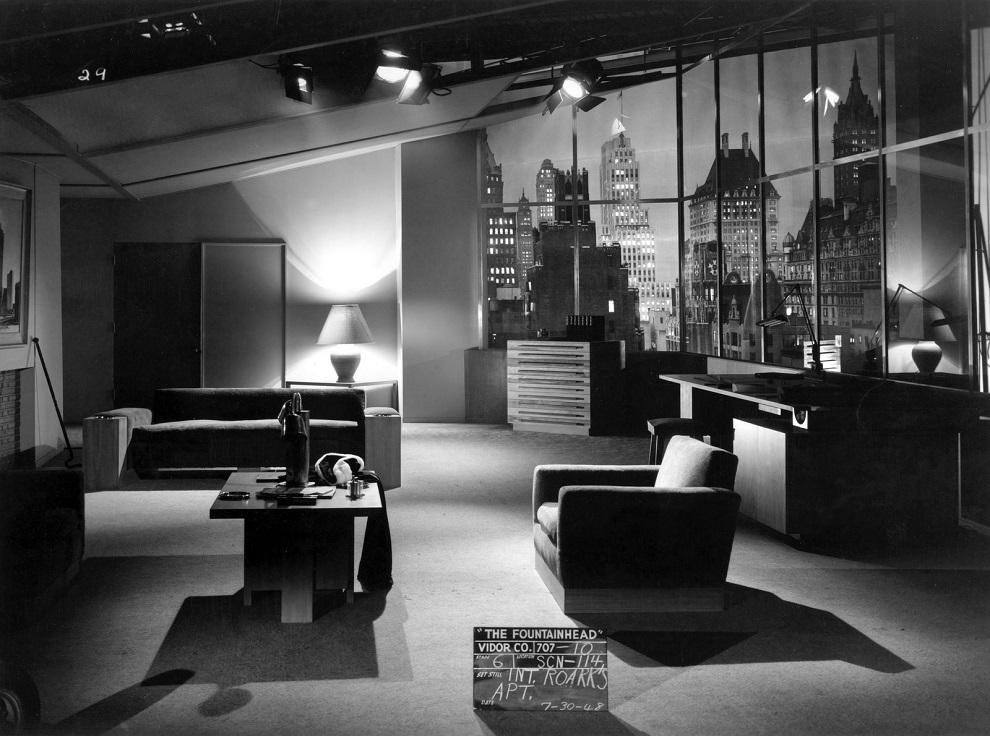 The Fountainhead (1949) Midcentury Modern