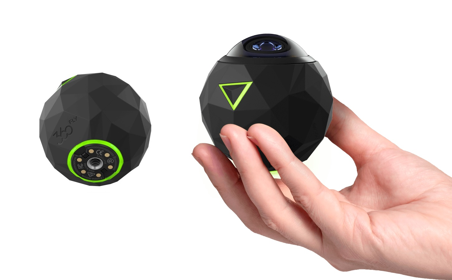 The World s Smartest 360fly 4k Camera