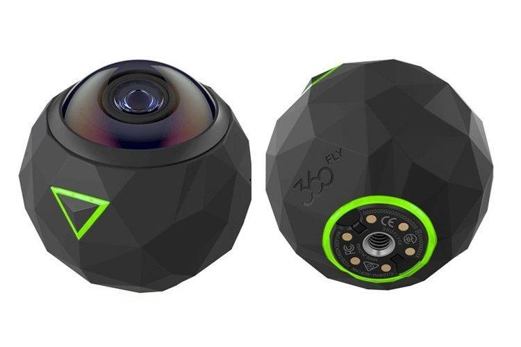 The Worlds Smartest 360fly 4k Camera