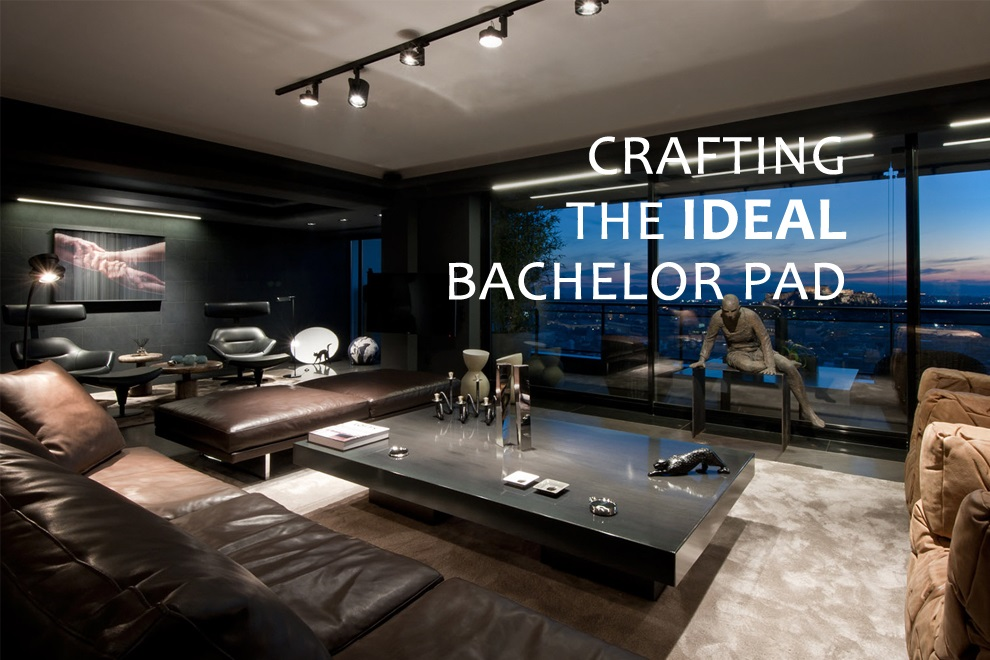 Crafting The Ideal Bachelor Pad Bonjourlife