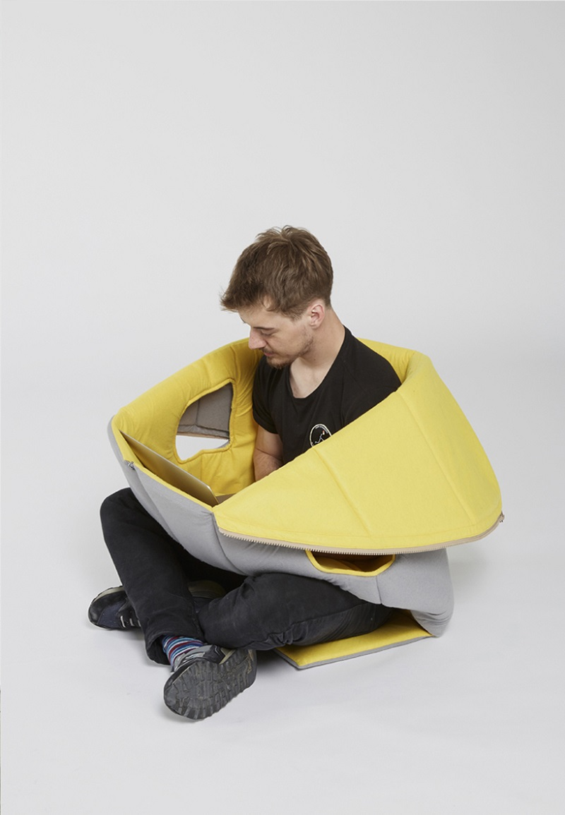 Sharkman Gives You Comfy and Flexible Private Space (6)