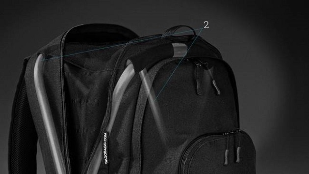 Unique BagoBago Backpack Has Built-in Stool (6)