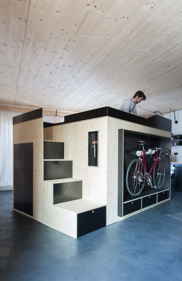 Moormann's Kammerspiel - The Space-Saving Living Cube (3)
