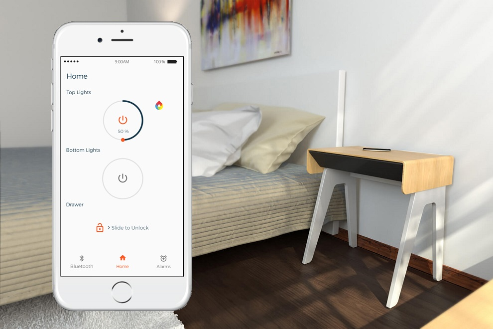 Secure Your Belongings with Curvilux Smart Nightstand (1)