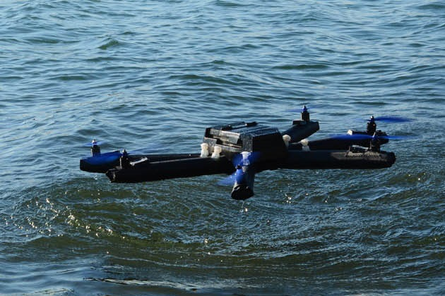 This Inflatable Drone Won't Worry About Water Landings (3)