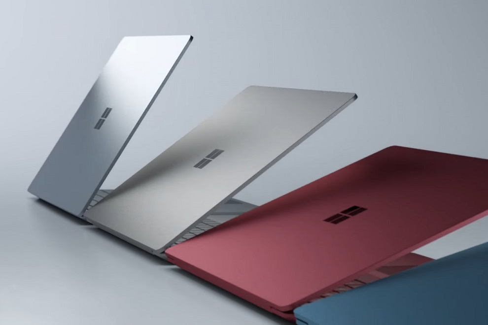 surface laptop varient colors